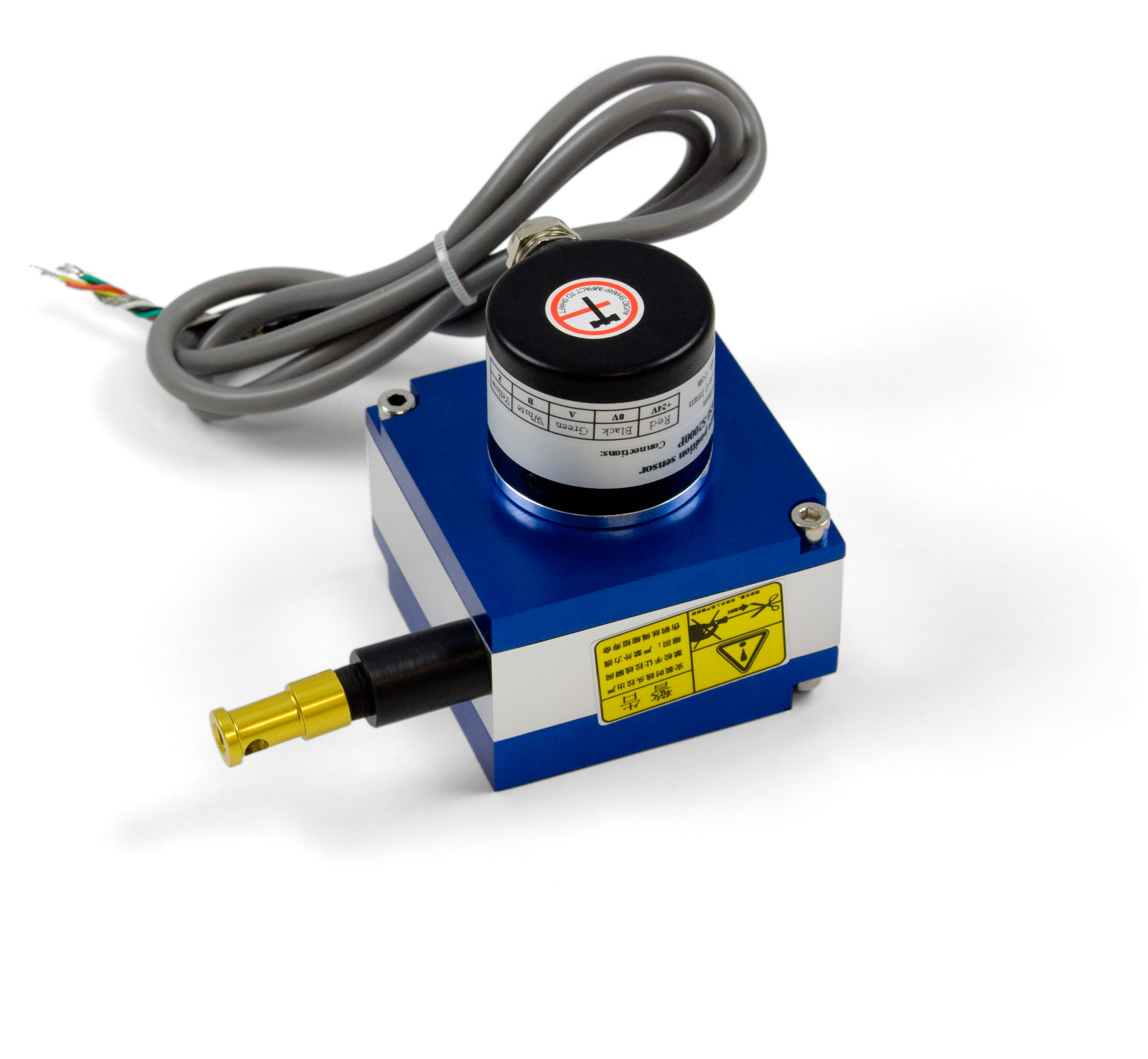 Draw Wire Encoder 2m Enc4105 0 At Phidgets Wiring Mechanical Rotary Switches