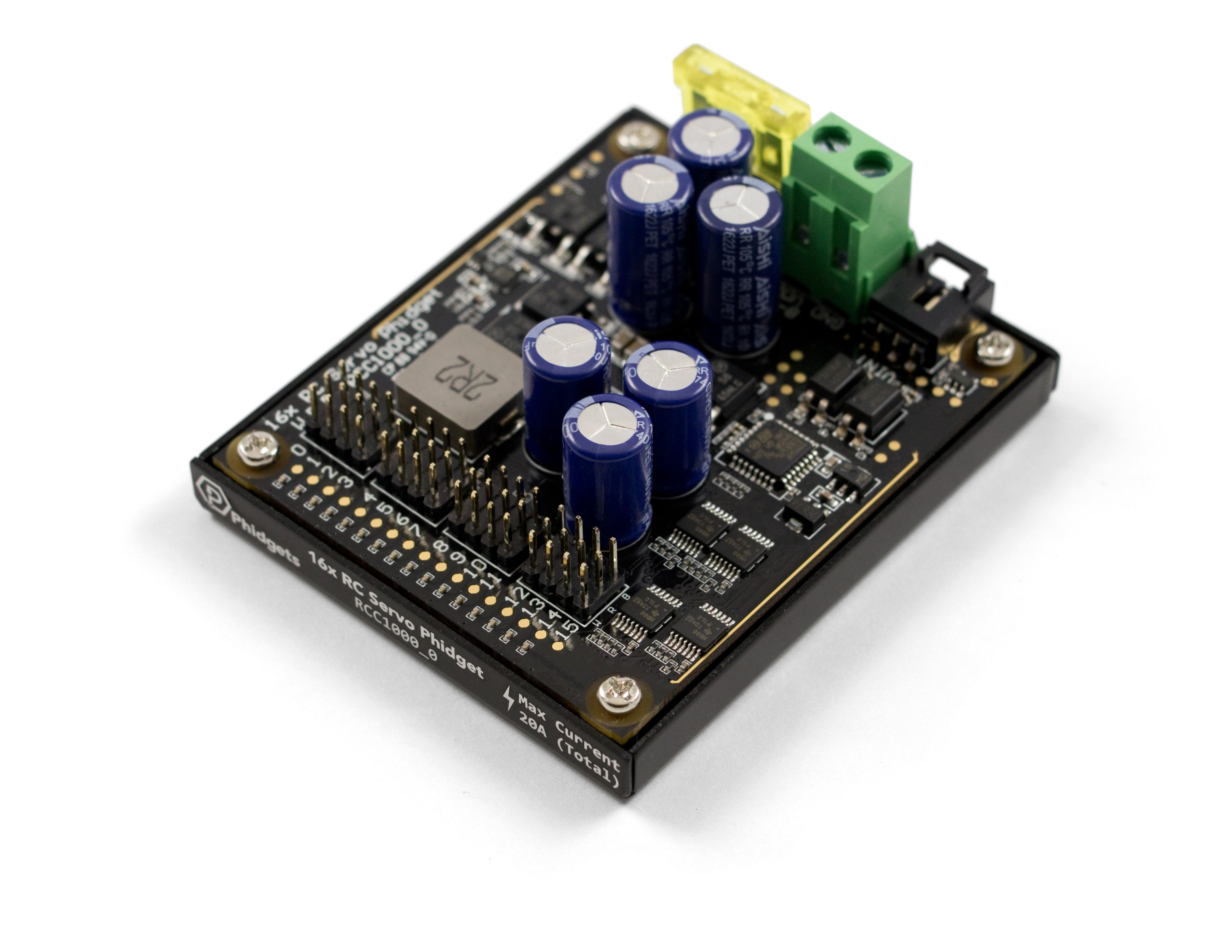 16x RC Servo Phidget - RCC1000_0 at Phidgets
