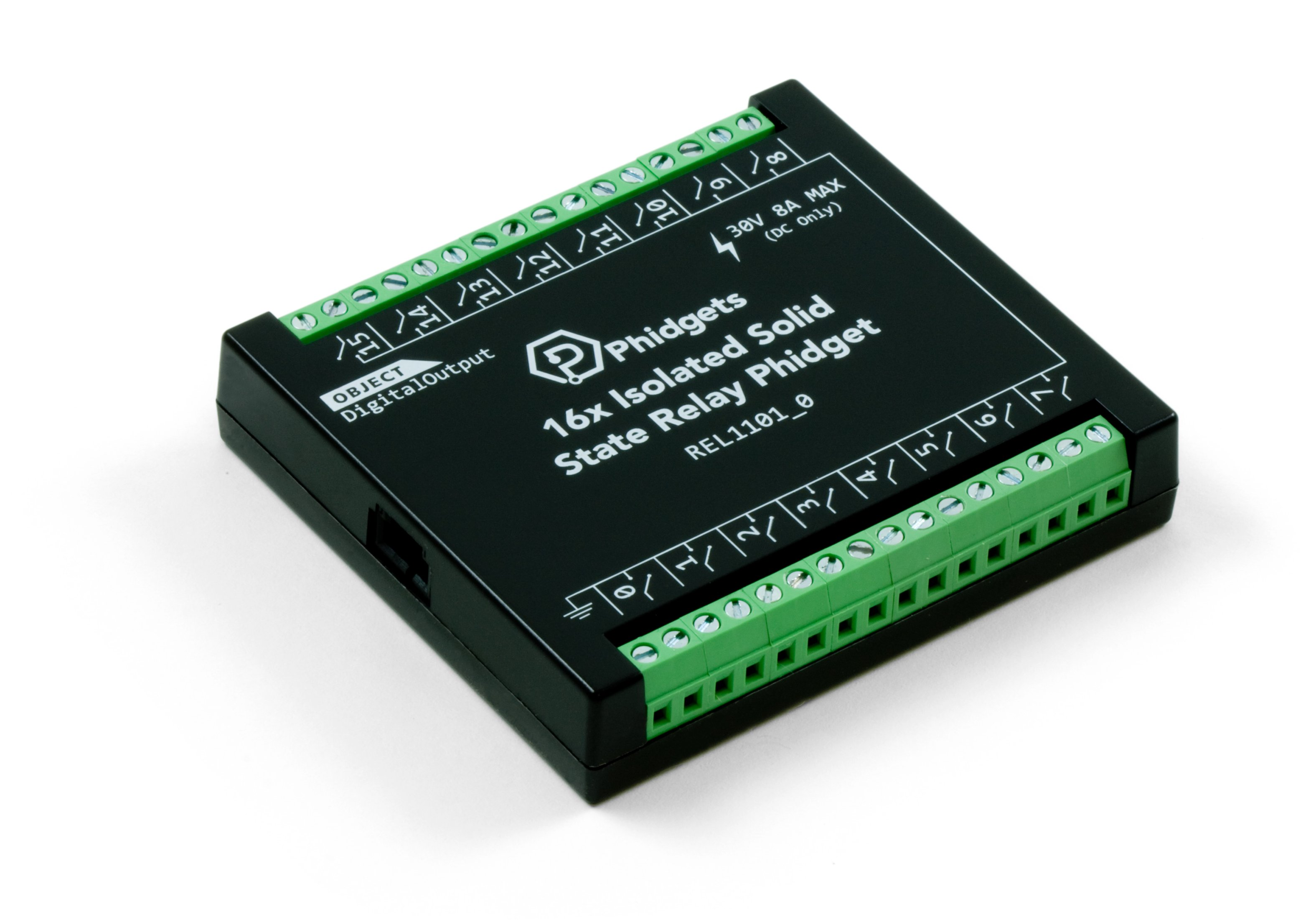16x Isolated Solid State Relay Phidget Rel1101 0 At Phidgets Terminal Codes