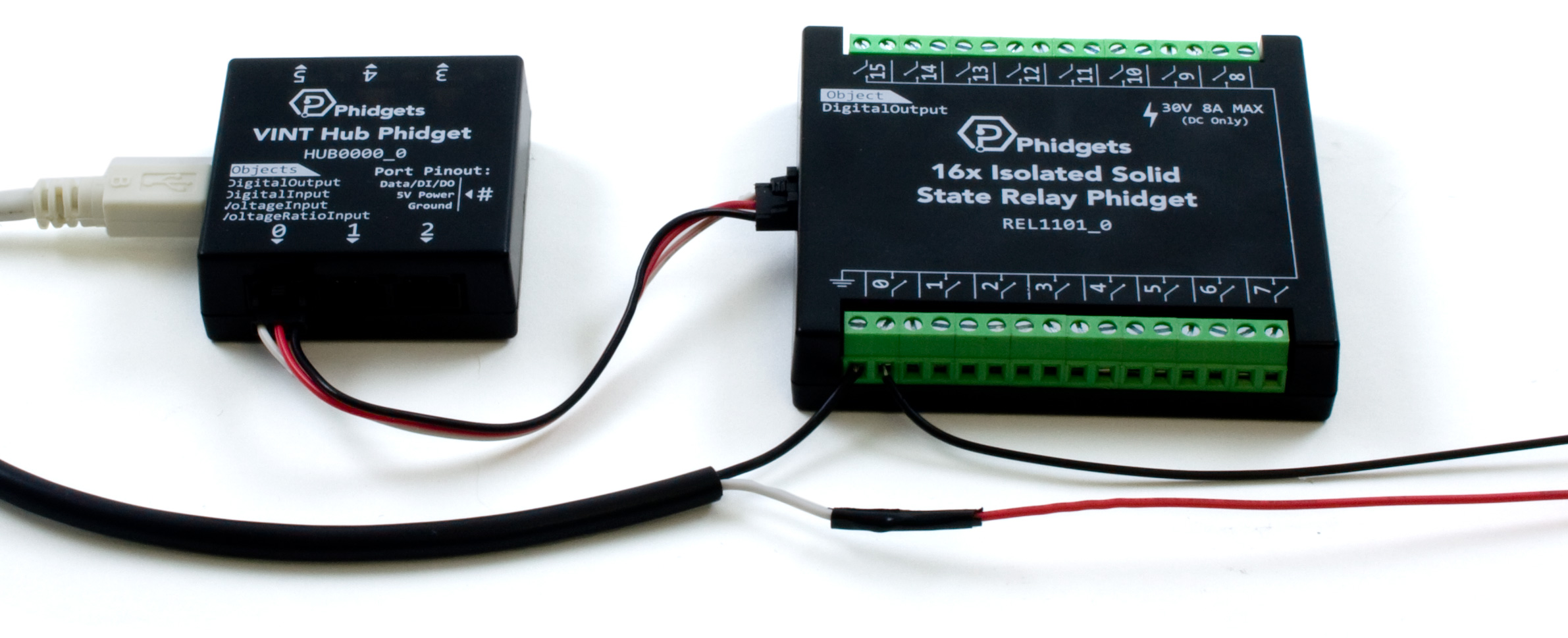 16x Isolated Solid State Relay Phidget Rel1101 0 At Phidgets Dc Power Relays Scale Note All Additional Hardware Sold Separately