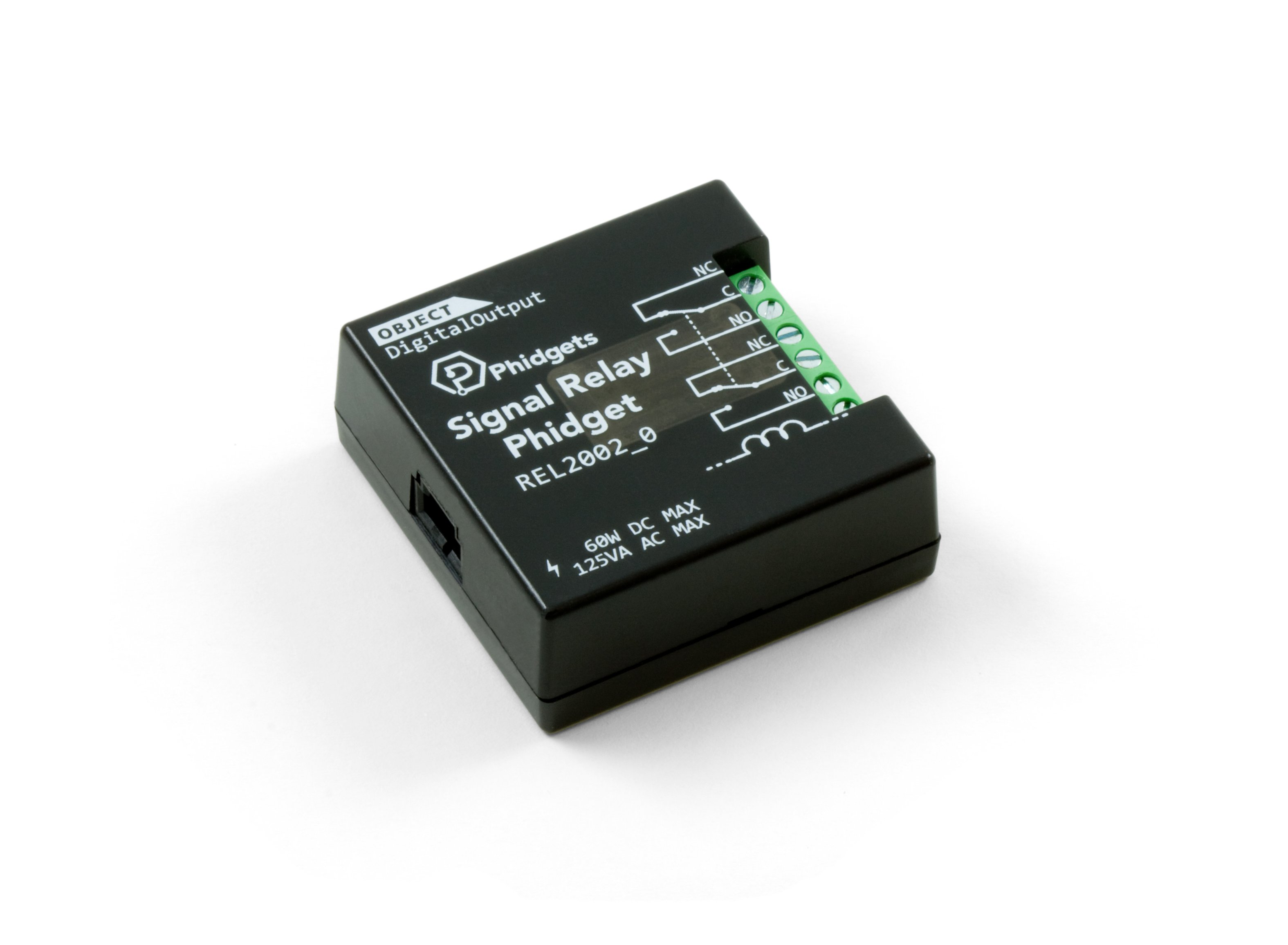 Signal Relay Phidget Rel2002 0 At Phidgets Electronic Dc