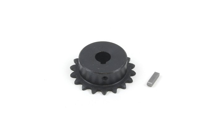 #25 Chain Sprocket with 9mm Bore and 18 Teeth