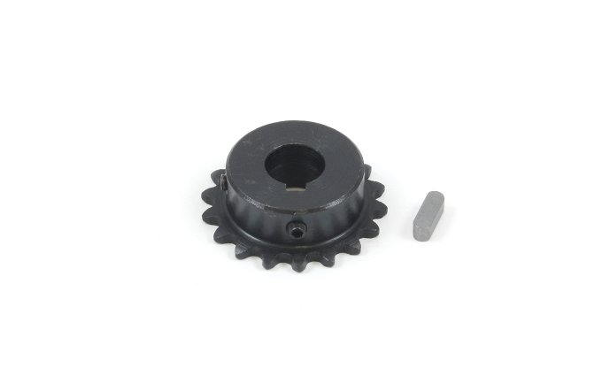 #25 Chain Sprocket with 12mm Bore and 18 Teeth