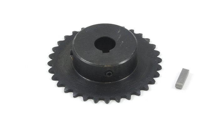 #25 Chain Sprocket with 12mm Bore and 32 Teeth
