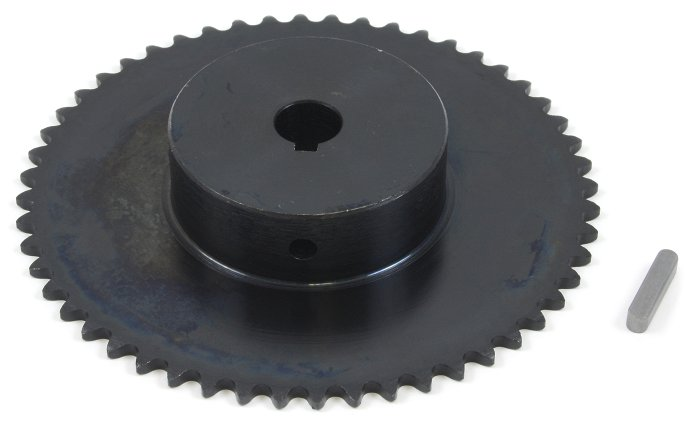 #25 Chain Sprocket with 12mm Bore and 52 Teeth