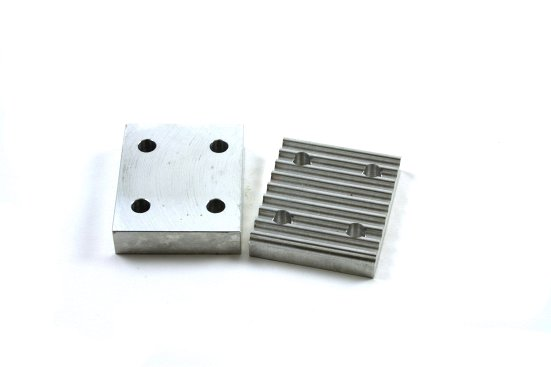 Clamp plate for 5GT timing belts