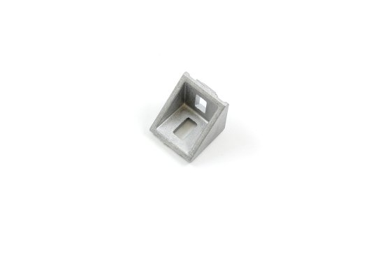 Cast aluminum right angle bracket for 20x20mm T slot